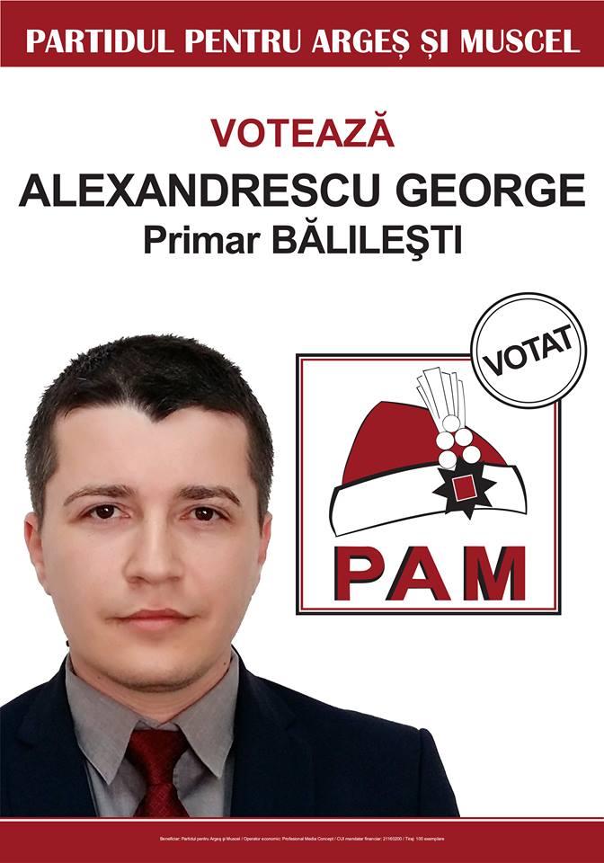 george alexandrescu, pam,